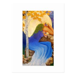 El grito de la madre naturaleza, postal