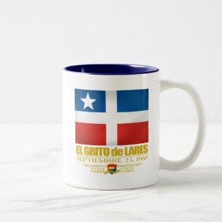 El Grito de Lares Two-Tone Coffee Mug