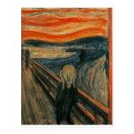El grito - Edvard Munch 1893 Postales