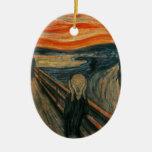 El grito - Edvard Munch Adorno De Navidad