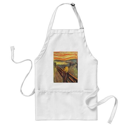 El grito - Edvard Munch Delantal