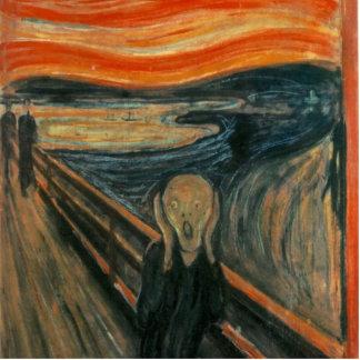 El grito - Edvard Munch Escultura Fotográfica