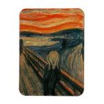 El grito - Edvard Munch Imanes Rectangulares