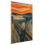 El grito - Edvard Munch Lona Estirada Galerías