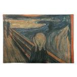 El grito - Edvard Munch Manteles Individuales