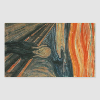 El grito - Edvard Munch Rectangular Altavoz
