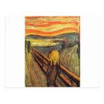 El grito - Edvard Munch Postales