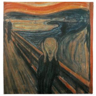 El grito - Edvard Munch Servilletas Imprimidas