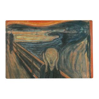 El grito - Edvard Munch Tapete Individual