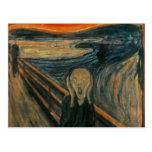 El grito - Edvard Munch Tarjetas Postales