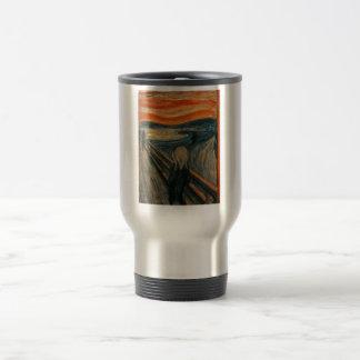 El grito - Edvard Munch Taza De Viaje De Acero Inoxidable