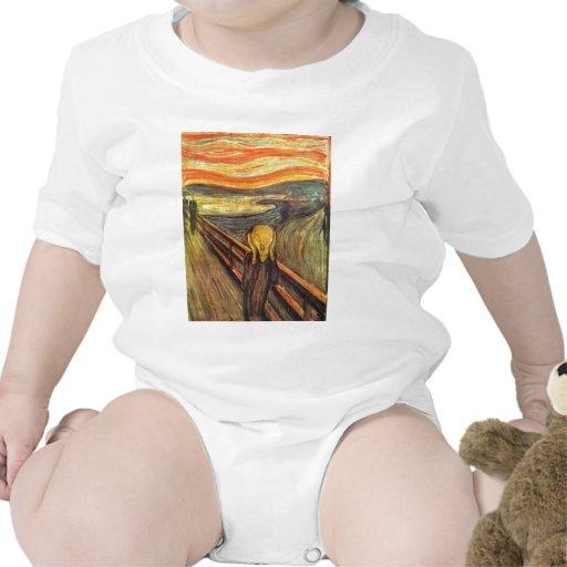 El grito - Edvard Munch Traje De Bebé
