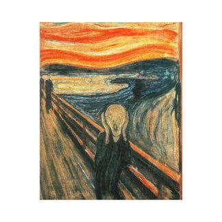 El grito Edward masca el griterío Impresiones De Lienzo