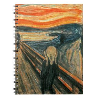 El grito Edward masca el griterío Notebook