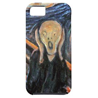 El grito - pintura cerca masque - CASO DE GRITERÍO iPhone 5 Funda