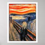 """""""El grito"""" por Edvard Munch Posters"""