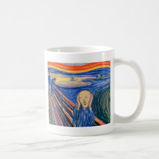 El grito por el arte moderno de Edvard Munch (en Taza Básica Blanca