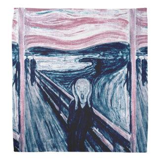 El grito por el pañuelo de Edvard Munch Bandana