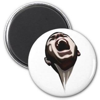 El grito robado - Gohst Imán Redondo 5 Cm