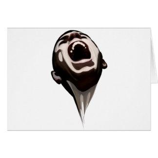El grito robado - Gohst Tarjeta De Felicitación