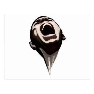 El grito robado - Gohst Tarjeta Postal