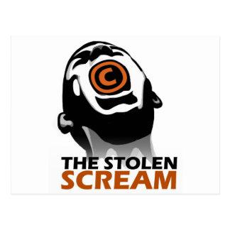 El grito robado postal