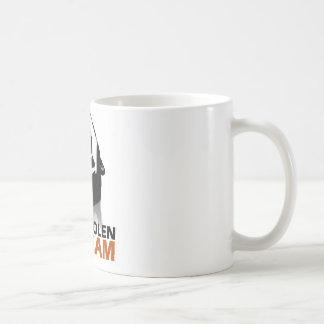 El grito robado taza básica blanca