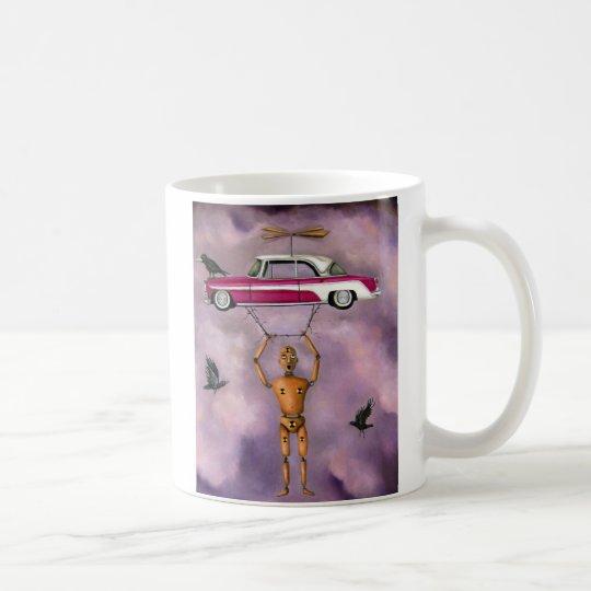 El grito taza de café