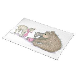 El Gruffies® Placemats Mantel
