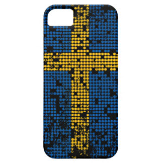 El Grunge apenó la caja sueca del teléfono de la b iPhone 5 Case-Mate Funda