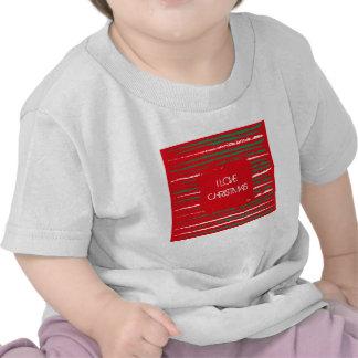 El Grunge de Navidad raya la camiseta infantil