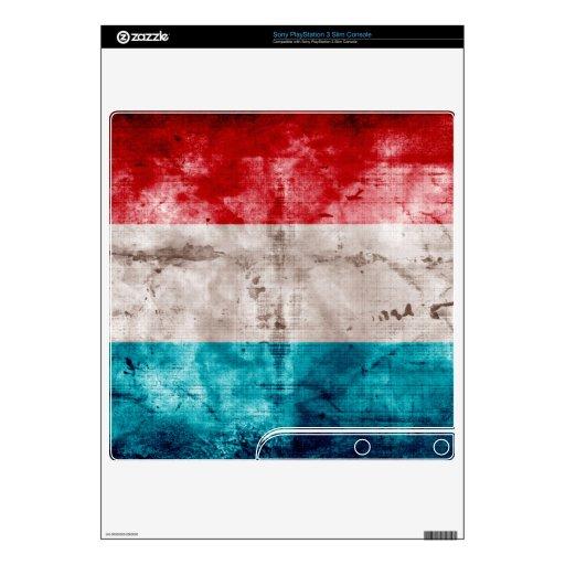 El Grunge Luxemburgo señala por medio de una bande Calcomanías Para PS3 Slim