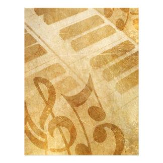EL GRUNGE MUSICAL OBSERVA FONDOS DEL PIANO SE DESC TARJETAS INFORMATIVAS
