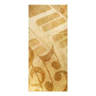 EL GRUNGE MUSICAL OBSERVA FONDOS DEL PIANO SE DESC TARJETAS PUBLICITARIAS