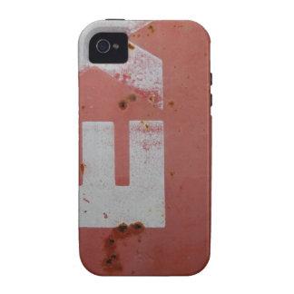 El Grunge pone letras al caso del iPhone 4 iPhone 4 Carcasa
