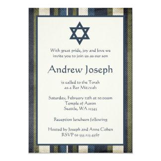 El Grunge raya la invitación de Mitzvah de la
