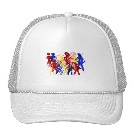 El grupo de palillo derecho figura la pintura de d gorra