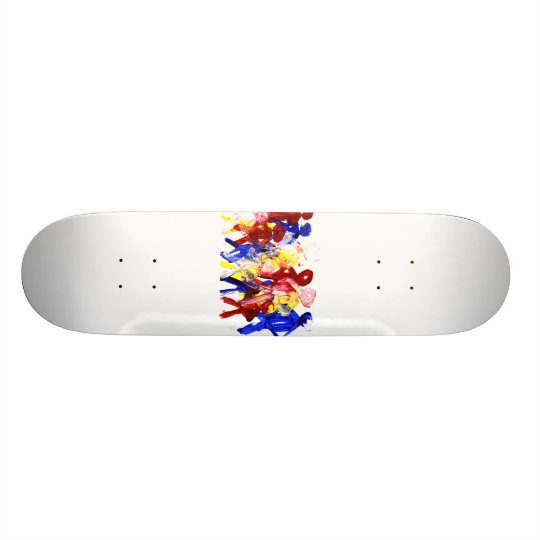 El grupo de palillo derecho figura la pintura de d skate board