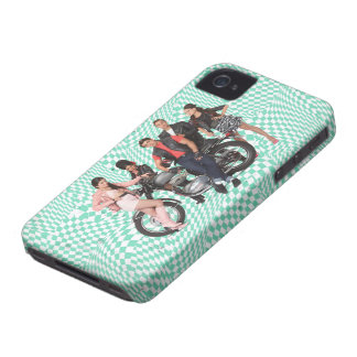 El grupo de playa adolescente tiró 1 iPhone 4 cárcasas