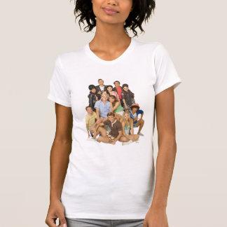 El grupo de playa adolescente tiró 2 camiseta