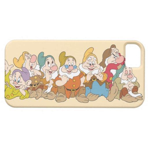 El grupo de siete enanos funda para iPhone SE/5/5s