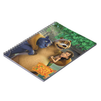 El grupo del libro de la selva tiró 1 cuaderno