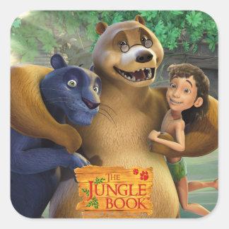 El grupo del libro de la selva tiró 1 pegatina cuadrada