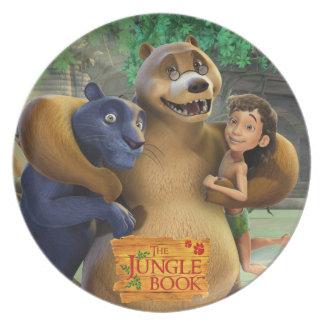 El grupo del libro de la selva tiró 1 plato de comida