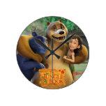 El grupo del libro de la selva tiró 1 relojes