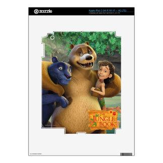 El grupo del libro de la selva tiró 1 pegatina skin para iPad 3