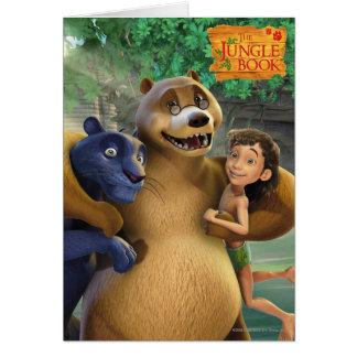 El grupo del libro de la selva tiró 1 felicitaciones