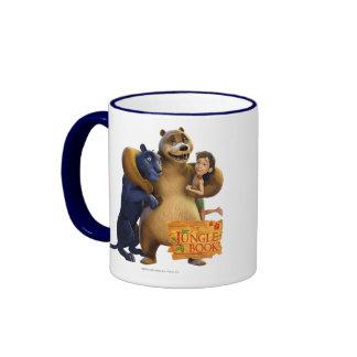 El grupo del libro de la selva tiró 1 taza de café