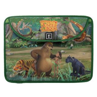 El grupo del libro de la selva tiró 2 funda para macbooks