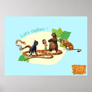 El grupo del libro de la selva tiró 4 2 póster